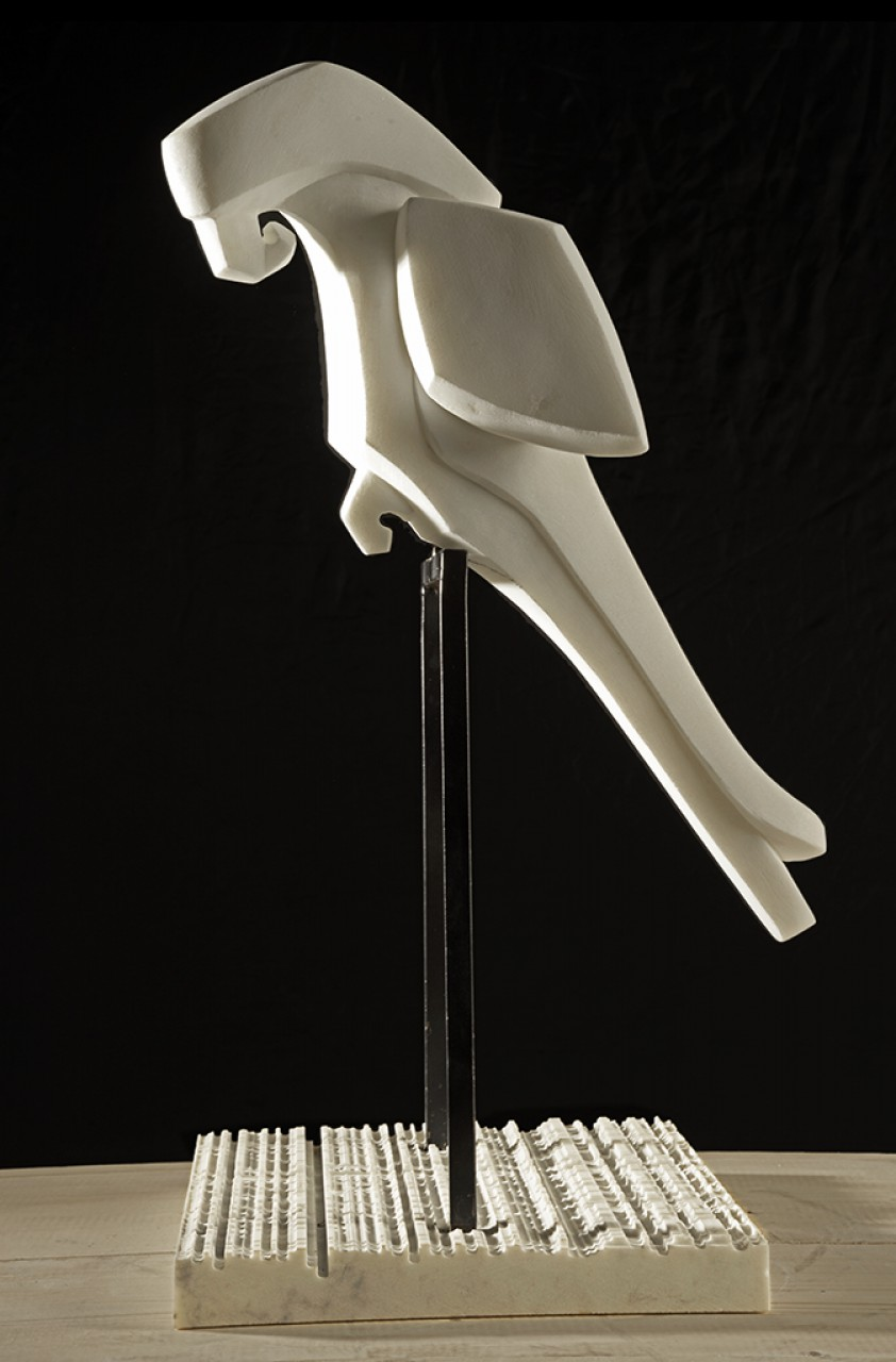 Parrot - sculture